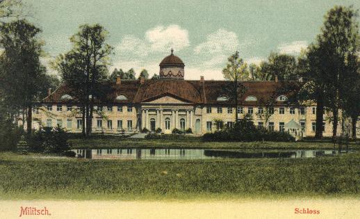 Schloss der Grafen Maltzan in Militsch